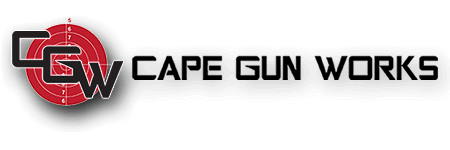 Logo for Cape Gun Works, a Gun Retail Store and Shooting Range on Cape Cod