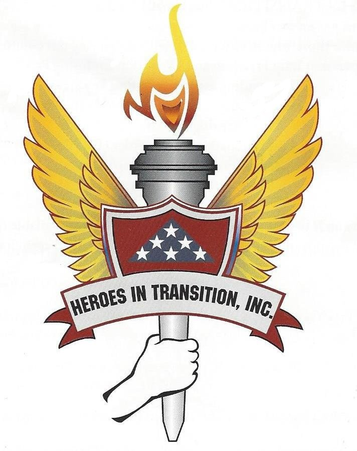 Logo for Heroes in Transition