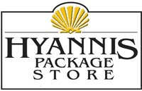 Logo for Hyannis Package Store, who is a proud sponsor of the 2019 Veteran's Top Shot Invitational on Cape Cod.