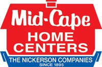 Logo for Mid-Cape Home Centers, who is a proud sponsor of the 2019 Veteran's Top Shot Invitational on Cape Cod.